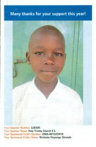Nicholas Okondo 2016