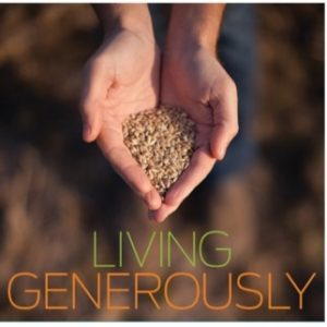 Stewardship 2016 living generously holy trinity for Generous living